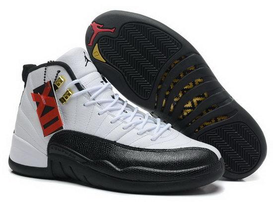 hot sale online 5cd6e 0a0d1 Air Jordan Retro 12 White Black Sale