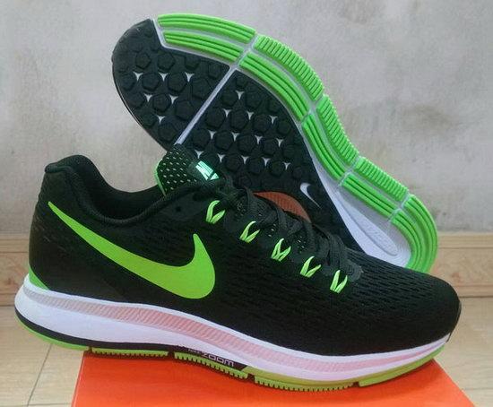best website 591ec 4499e Mens Nike Zoom Pegasus 34 Black Green 40-45 Online Shop ...