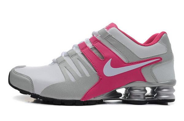 super popular e623e 73387 Womens Nike Shox Current White Pink 36-40 Netherlands